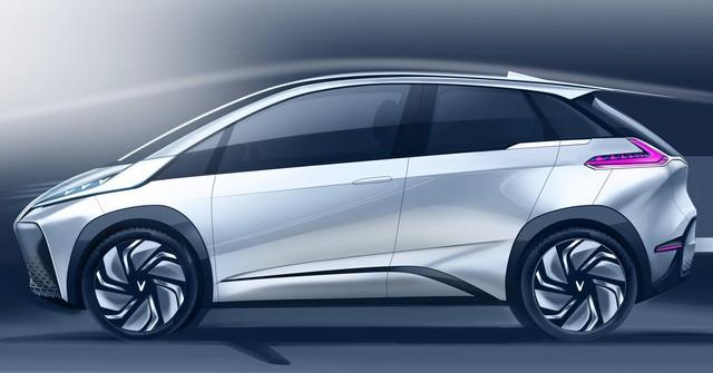 VINFAST công bố 17 mẫu ô tô điện đẹp long lanh - Ảnh 11