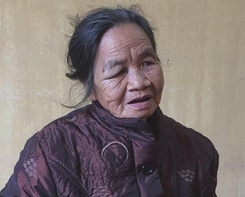 Điều tra vụ mâu thuẫn vì rãnh nước, cụ bà 73 tuổi ra tay giết người  - Ảnh 1