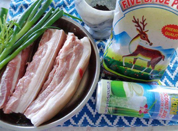 Cách làm thịt xá xíu thơm ngon không cần lò nướng - Ảnh 1