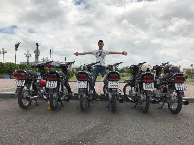 """Thiếu gia 9x Bắc Ninh rao bán dàn xe Honda Dream biển """"tứ quý 9999"""" giá 1,13 tỷ đồng  - Ảnh 1"""