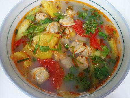Cách nấu canh ngao nấu chua chuẩn vị, ngon ngây ngất cho bữa tối quây quần  - Ảnh 4