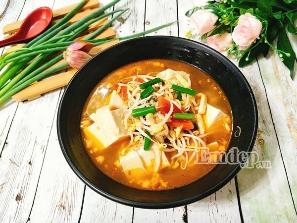 Cách làm canh chua nấu đậu thịt cho cả nhà ngon cơm - Ảnh 5