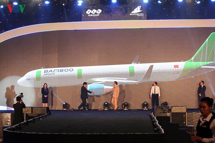 Ra mắt hãng hàng không Bamboo Airways của tỷ phú Trịnh Văn Quyết - Ảnh 1