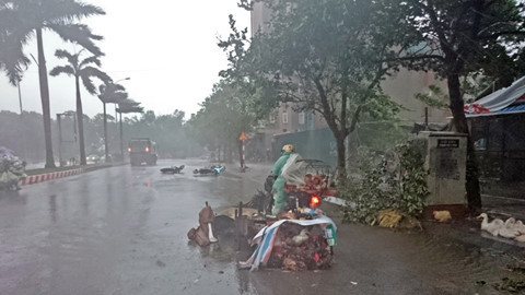 Ứng phó khẩn cấp bão số 6 và mưa lũ - Ảnh 1