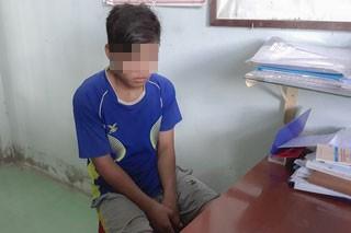 Bắt khẩn cấp thiếu niên 15 tuổi hiếp dâm bé gái 8 tuổi - Ảnh 1