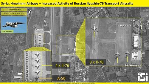Nga tăng cường khoảng 30máy bay chiến đấu tại Syria sau vụ Il-20 bị bắn rơi - Ảnh 1