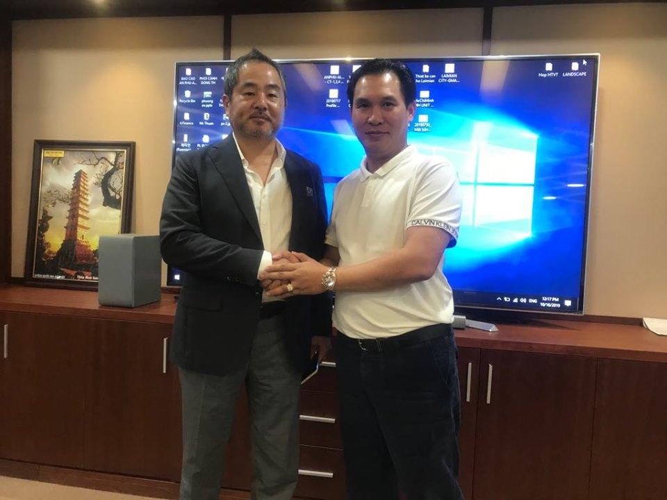 Tổng giám đốc Lucky Vietnam Construction chúc mừng HDTC thắng kiện - Ảnh 1