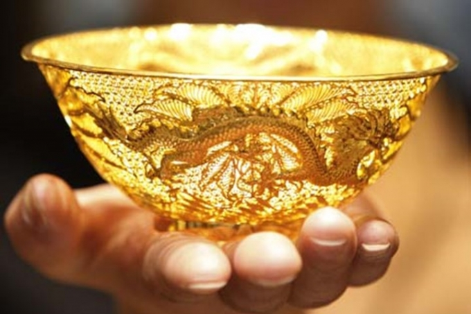 Giá vàng hôm nay 7/10/2019: Vàng SJC tiếp tục tăng 100 nghìn đồng/lượng - Ảnh 1