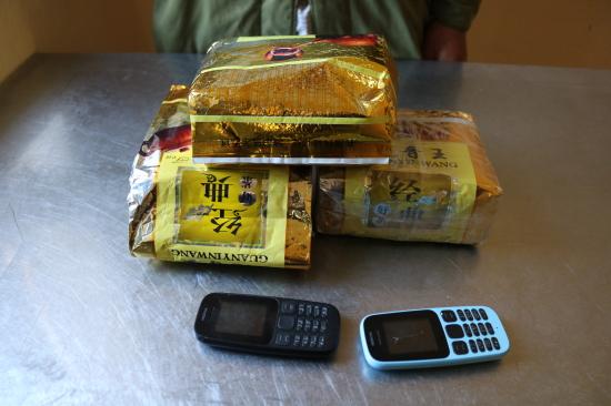 Nghệ An: Tóm gọn đối tượng đang mua bán trái phép 3kg ma túy   - Ảnh 1