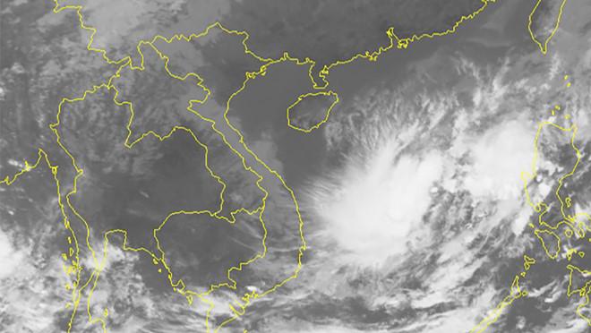 Áp thấp nhiệt đới giữa Biển Đông có thể gây gió giật cấp 8-9 - Ảnh 1