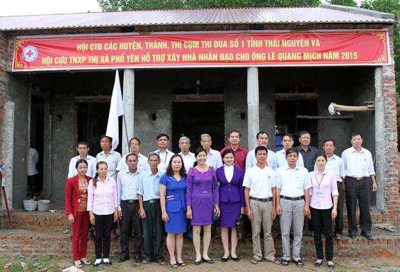 Hỗ trợ xây nhà nhân đạo cho các hộ nghèo tỉnh Thái Nguyên - Ảnh 1