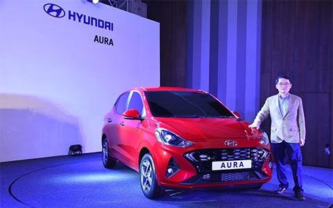 Ngẩn ngơ trước vẻ đẹp của Hyundai Aura giá từ 195 triệu - Ảnh 1