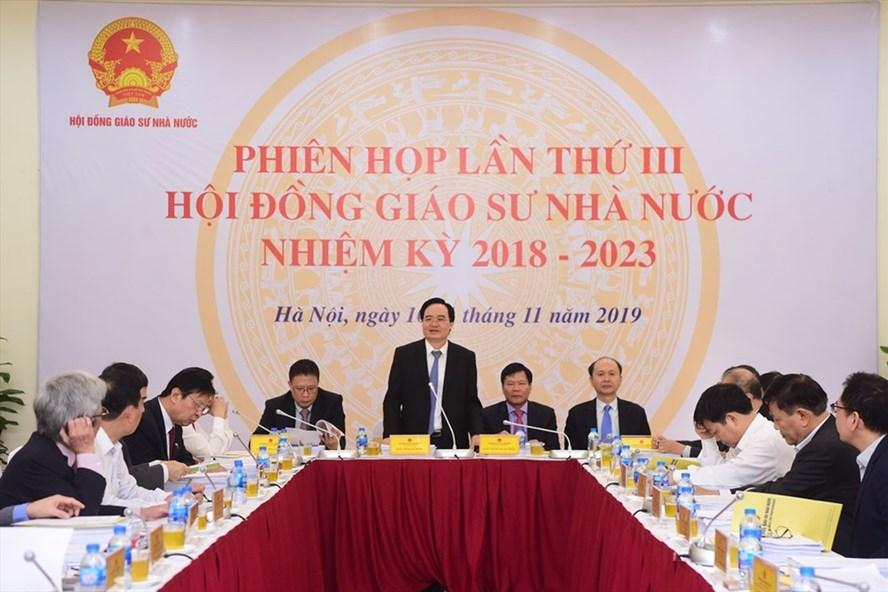 Việt Nam có thêm 422 giáo sư, phó giáo sư, người trẻ nhất 38 tuổi - Ảnh 1