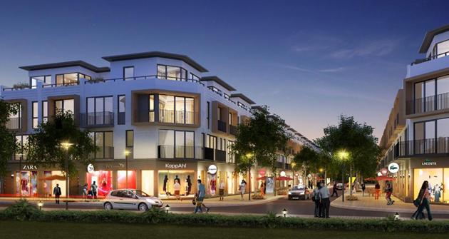 Lợi thế đắt giá của shophouse mặt đường 34m tại dự án Phố Nối House - Ảnh 2