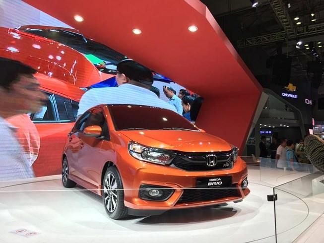 """Xe Honda Brio """"sang, xịn, mịn"""", giá chỉ từ 380 triệu đồng chuẩn bị ra mắt tại Hà Nội? - Ảnh 1"""