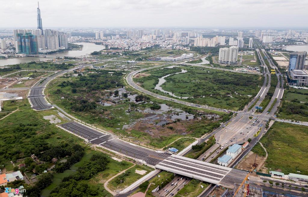 Cận cảnh các dự án sai phạm ở khu đô thị Thủ Thiêm - Ảnh 2
