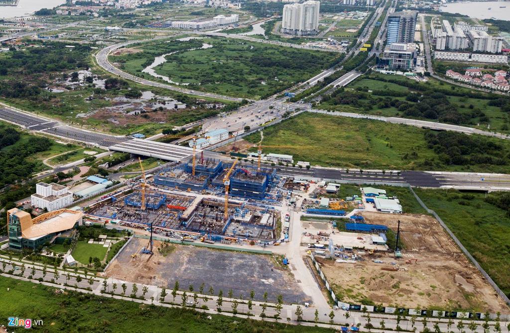 Cận cảnh các dự án sai phạm ở khu đô thị Thủ Thiêm - Ảnh 5