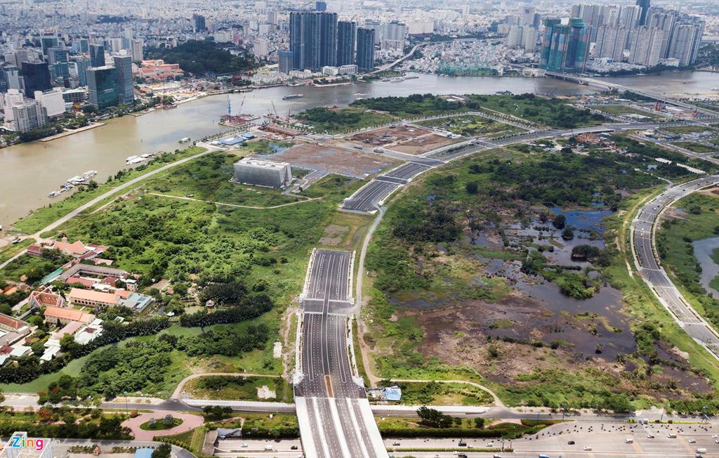 Cận cảnh các dự án sai phạm ở khu đô thị Thủ Thiêm - Ảnh 8