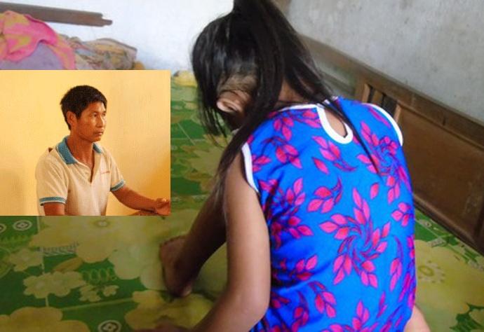 Tạm giữ đối tượng hiếp dâm bé gái 10 tuổi ở Thái Nguyên  - Ảnh 1