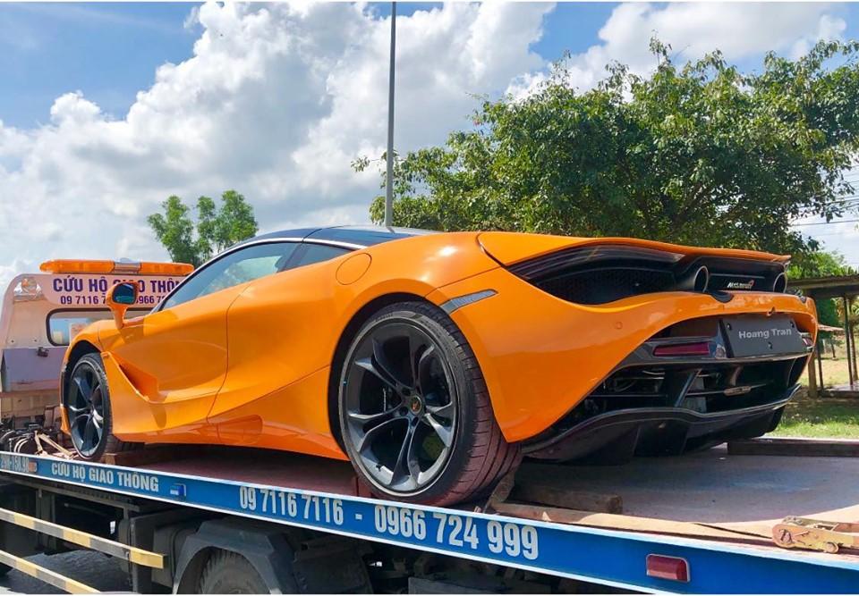 Cận cảnh siêu xe McLaren 24 tỷ của Cường Đô-la - Ảnh 2