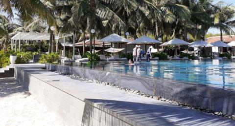 Khu nghỉ dưỡng Furama Đà Nẵng xây bãi  đáp trực thăng trái phép - Ảnh 1