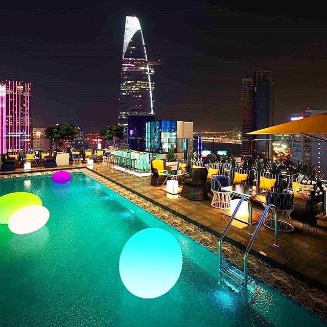 TPHCM: Mở quán bar trái phép trên nóc toà cao ốc The One Saigon - Ảnh 1