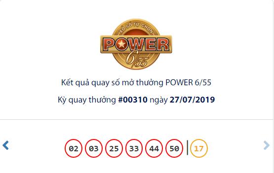 Kết quả xổ số Vietlott ngày 30/7/2019: Tìm chủ nhân cho Jackpot hơn 33 tỷ đồng - Ảnh 1