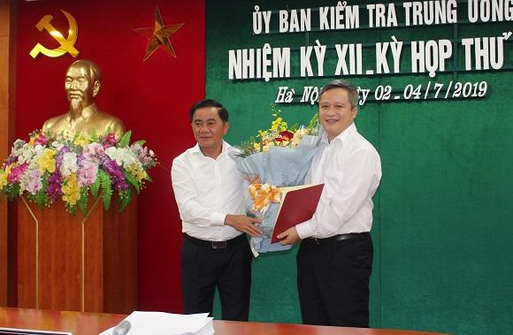 Uỷ viên UBKT Trung ương giữ chức Phó Bí thư tỉnh Hà Tĩnh - Ảnh 1