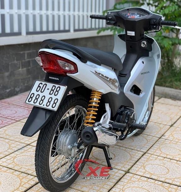 Cận cảnh xe máy Honda Wave cũ rao bán 145 triệu đồng  - Ảnh 6