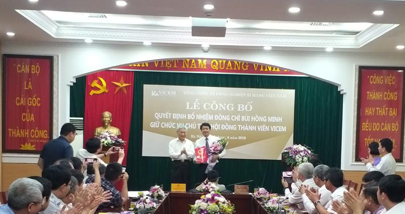 Bổ nhiệm ông Bùi Hồng Minh giữ chức Chủ tịch VICEM - Ảnh 1