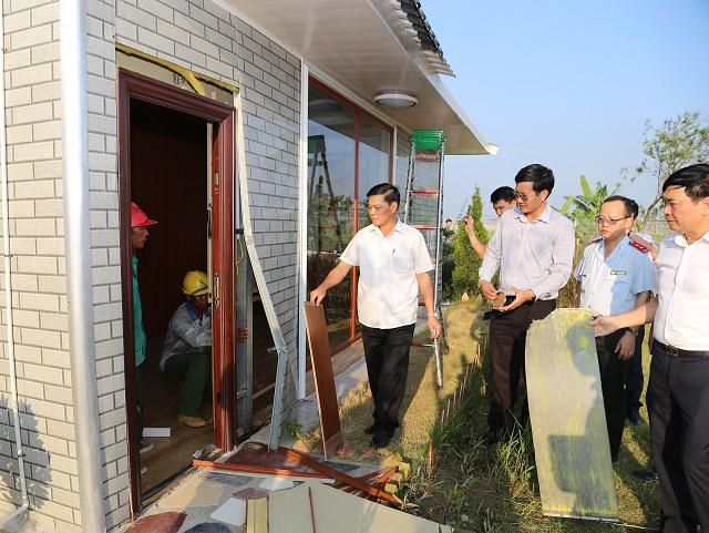 Hải Phòng: Yêu cầu tháo dỡ hàng loạt nhà tạm xây dựng trái phép của doanh nghiệp Trung Quốc   - Ảnh 1