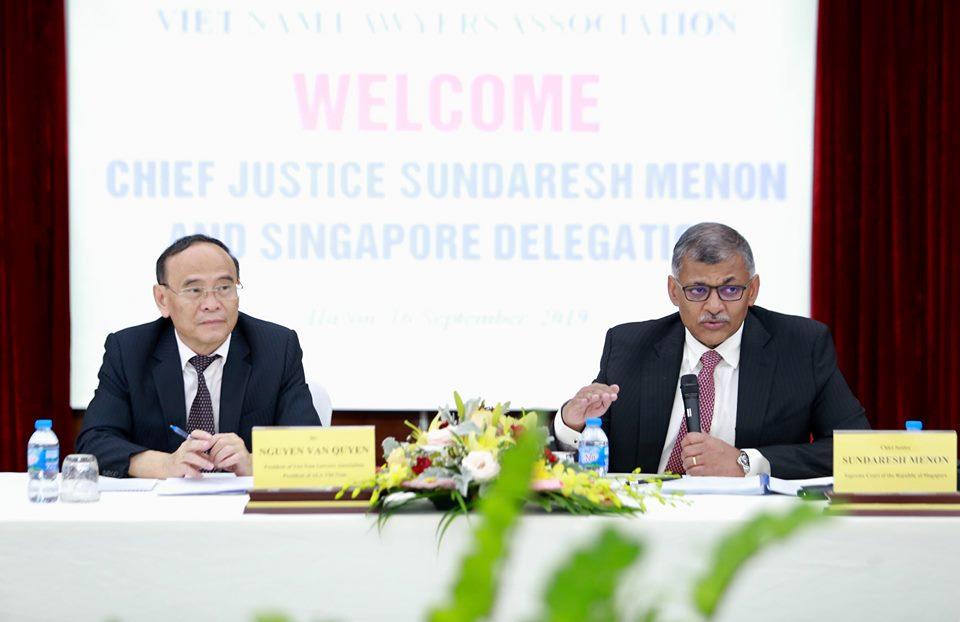 Đoàn đại biểu Hiệp hội Luật các nước ASEAN thăm và làm việc với Uỷ ban ALA quốc gia Việt Nam và Hội Luật gia Việt Nam - Ảnh 2