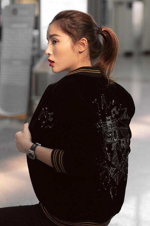 Hoa hậu Kỳ Duyên hóa thiên thần tỷ tỷ tại Paris Fashion Week - Ảnh 3
