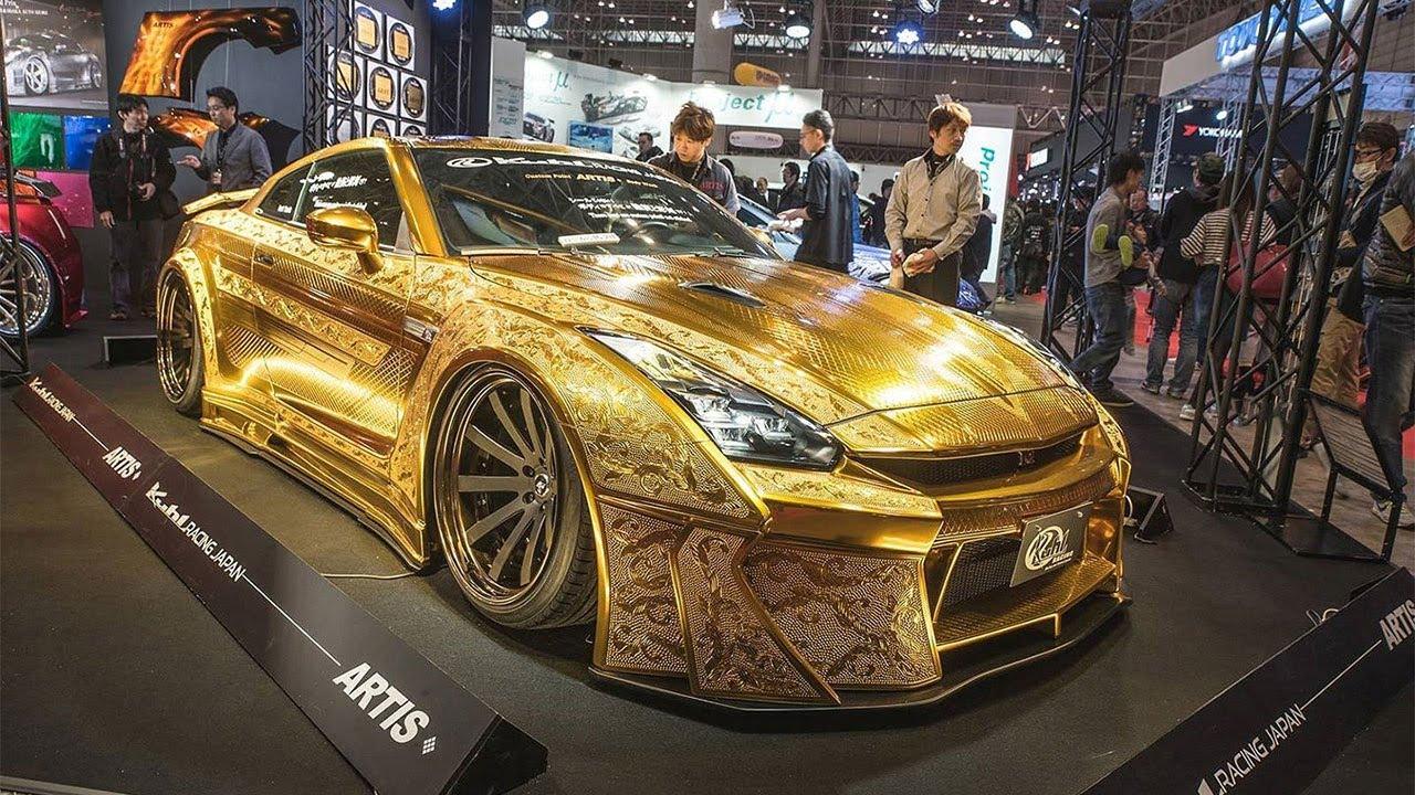 Chói mắt với những món đồ bọc vàng xa xỉ của giới nhà giàu   - Ảnh 1
