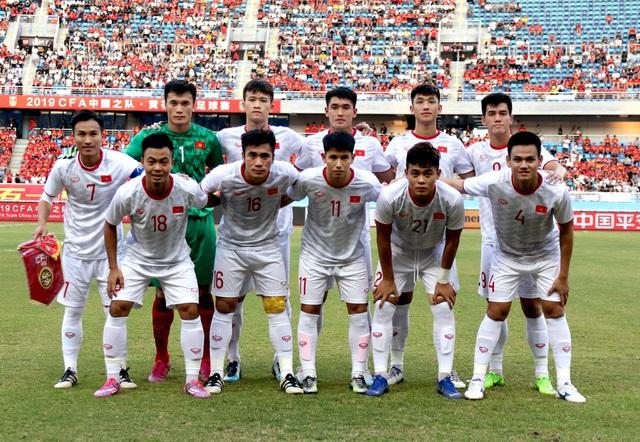 Những khoảnh khắc ấn tượng của U22 Việt Nam thắng chủ nhà Trung Quốc 2-0 - Ảnh 1