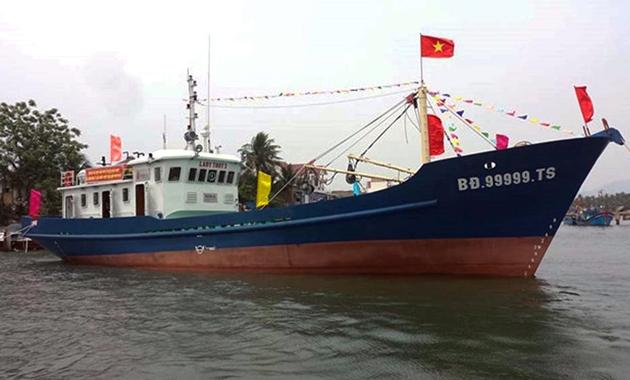 Đi tìm nguyên nhân hàng loạt tàu vỏ thép của Bình Định chìm trên biển - Ảnh 1