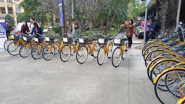 """""""Vòng quay xanh"""" đồng hành cùng sinh viên Đại học Thủ đô Hà Nội - Ảnh 1"""