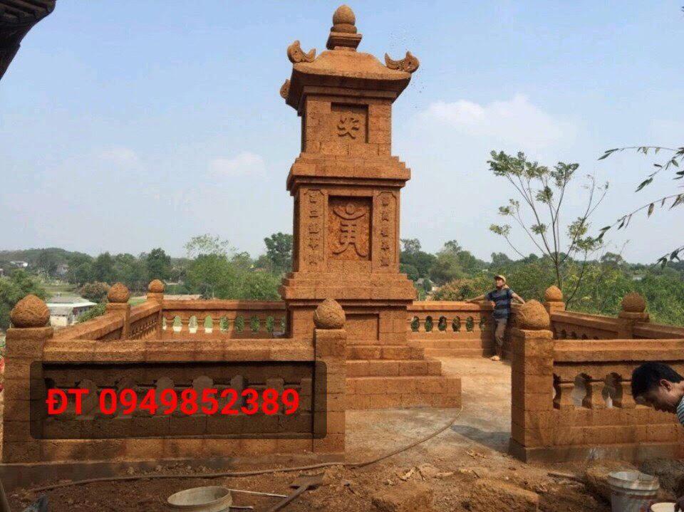 Nghệ nhân bàn tay vàng của đá ong Vương Văn Hùng - Ảnh 2