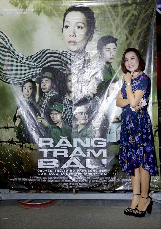 Giám đốc công ty truyền thông Lê Phạm đến chia vui cùng nghệ sĩ Trịnh Kim Chi - Ảnh 1