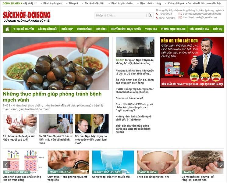 Có thể bạn chưa biết: Những trang web hay về lĩnh vực sức khỏe - Ảnh 1