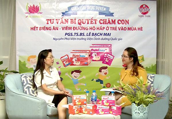 PGS.TS.BS Lê Bạch Mai giới thiệu đến hàng nghìn mẹ Việt giải pháp trị biếng ăn cho trẻ chỉ với cốm NutriBaby - Ảnh 3