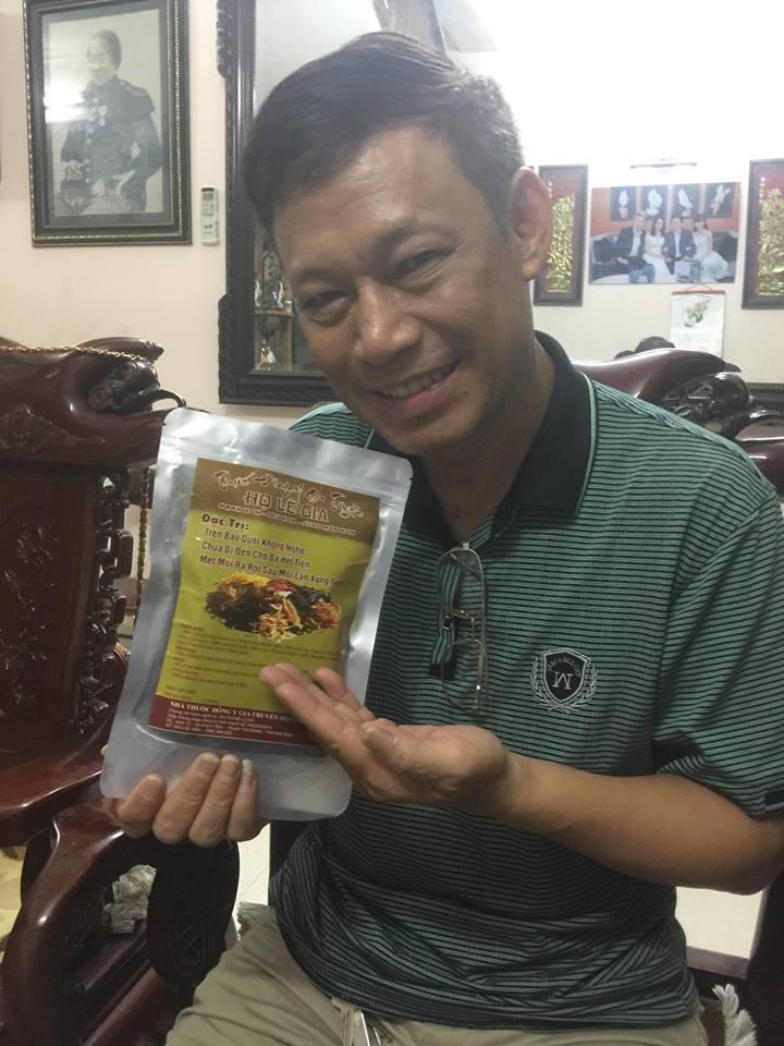 Lương y Lê Quang Cảnh chữa yếu sinh lý nam và bệnh vô sinh hiếm muộn hiệu quả - Ảnh 3