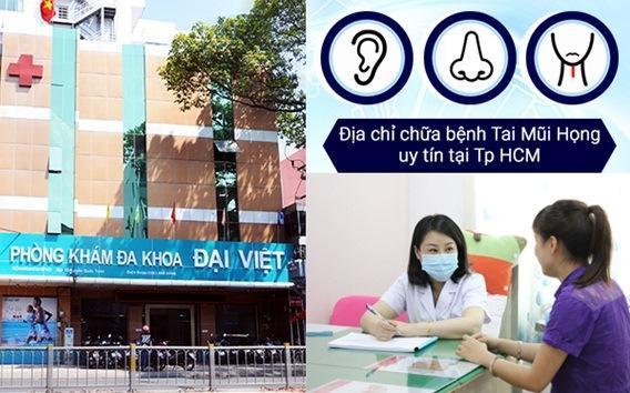 Khám Tai Mũi Họng tại Phòng Khám Đa Khoa Đại Việt - Ảnh 1