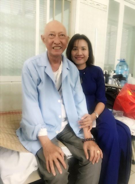 Chiến đấu với bệnh tật, nghệ sĩ Lê Bình vẫn lạc quan - Ảnh 2