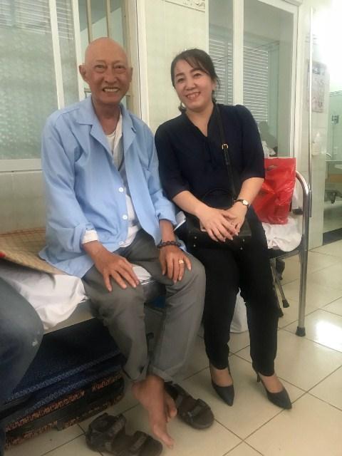 Chiến đấu với bệnh tật, nghệ sĩ Lê Bình vẫn lạc quan - Ảnh 3