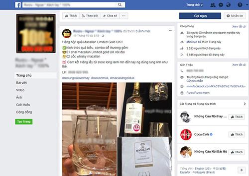 Quảng cáo rượu mạnh tràn lan trên mạng internet, cơ quan quản lý kêu khó - Ảnh 2
