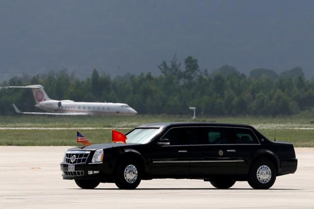 Những hình ảnh đầu tiên của Tổng thống Mỹ tại Đà Nẵng trên báo chí quốc tế - Ảnh 6