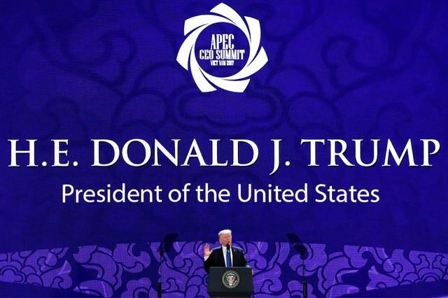 Những hình ảnh đầu tiên của Tổng thống Mỹ tại Đà Nẵng trên báo chí quốc tế - Ảnh 7