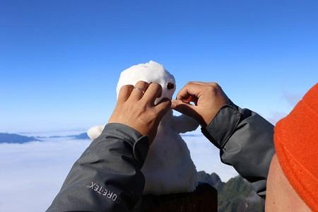 Fansipan xuất hiện sương muối, băng tuyết - Ảnh 4