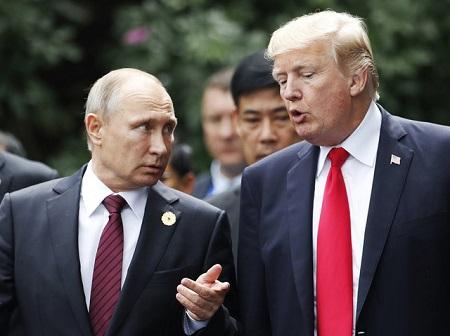 """Tổng thống Putin kêu gọi """"hợp tác thực tiễn"""" với ông Trump trước thềm năm mới - Ảnh 1"""